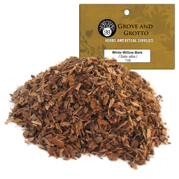 White Willow Bark (1 oz) - Grove and Grotto