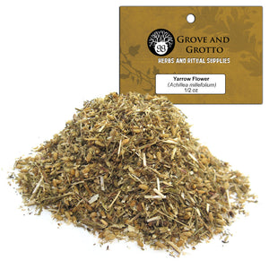 Yarrow Flower (1/2 oz) - Grove and Grotto