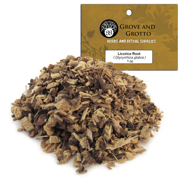Licorice Root (1 oz) - Grove and Grotto