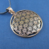Flower of Life Amulet (Bronze)