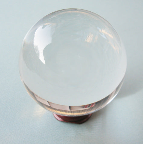 Clear Crystal Ball (80 mm)
