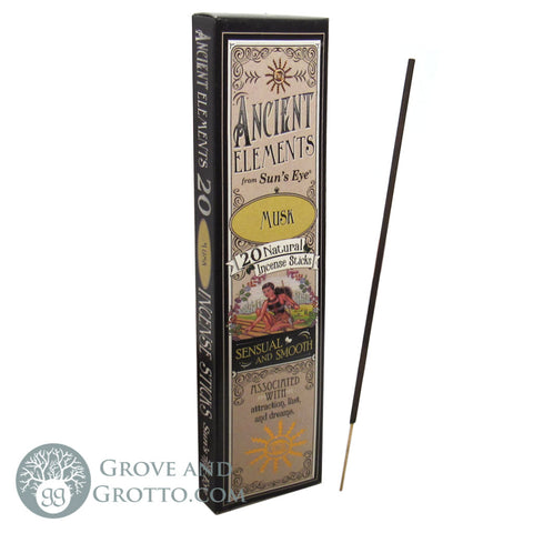 Ancient Elements Incense by Sun's Eye - Musk - Grove and Grotto