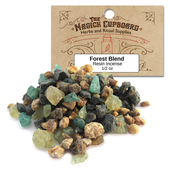 Forest Blend Resin Incense (1/2 oz) - Grove and Grotto