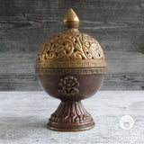 Antiqued Tibetan Style Incense Burner