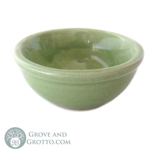 "Ceramic Incense Dish 2.5"" (Green) - Grove and Grotto"