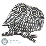 Owl Incense Burner - Grove and Grotto