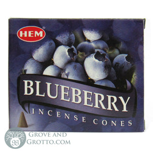 HEM Incense Cones - Blueberry