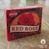 HEM Incense Cones - Red Rose