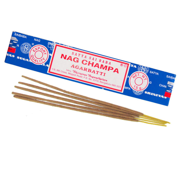 Nag Champa Incense Sticks (15 g) - Grove and Grotto