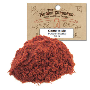 Come To Me Powder Incense (1/2 oz) - Grove and Grotto
