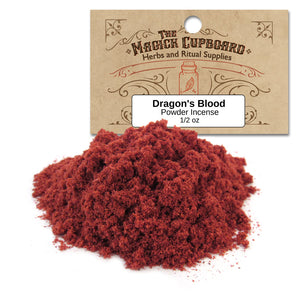 Dragon's Blood Powder Incense (1/2 oz) - Grove and Grotto