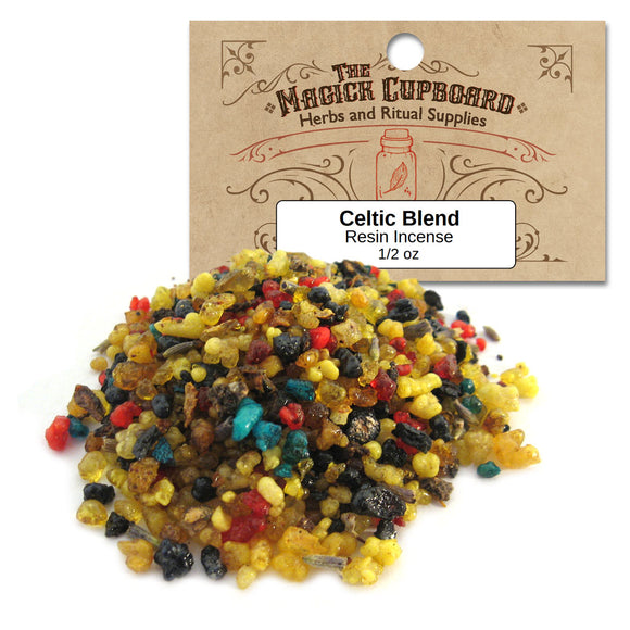 Celtic Blend Resin Incense (1/2 oz) - Grove and Grotto