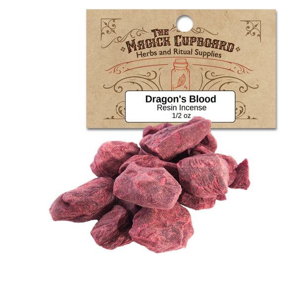 Dragon's Blood Resin Incense (1/2 oz) - Sumatra - Grove and Grotto