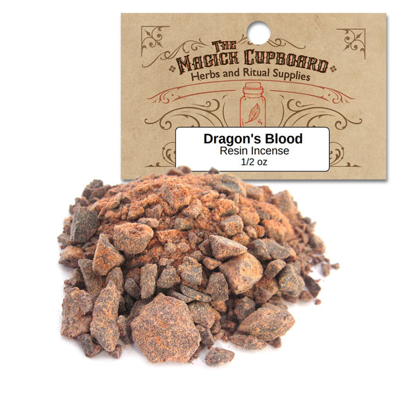 Dragon's Blood Resin Incense (1/2 oz) - India - Grove and Grotto