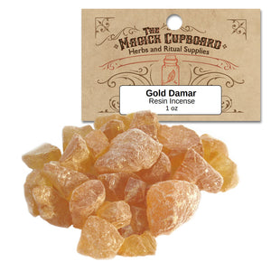 Gold Damar Resin (1 oz) - Grove and Grotto