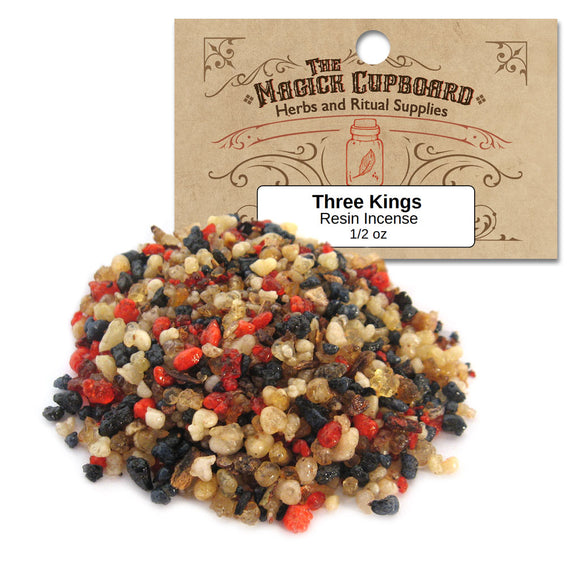 Three Kings Resin Incense (1/2 oz)