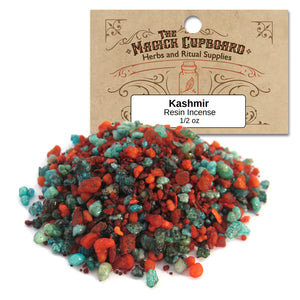 Kashmir Resin Incense (1/2 oz) - Grove and Grotto