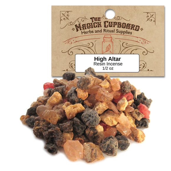 High Altar Resin Incense (1/2 oz) - Grove and Grotto