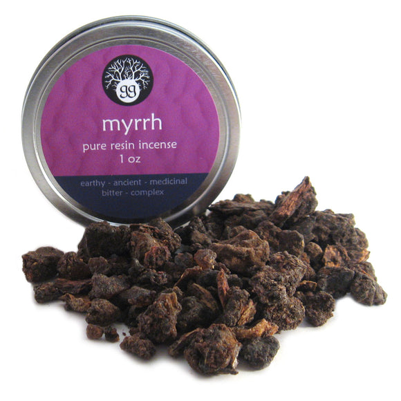 Myrrh Resin in Tin (1 oz)