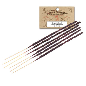 Resin Incense Sticks - Dragon's Blood - Grove and Grotto