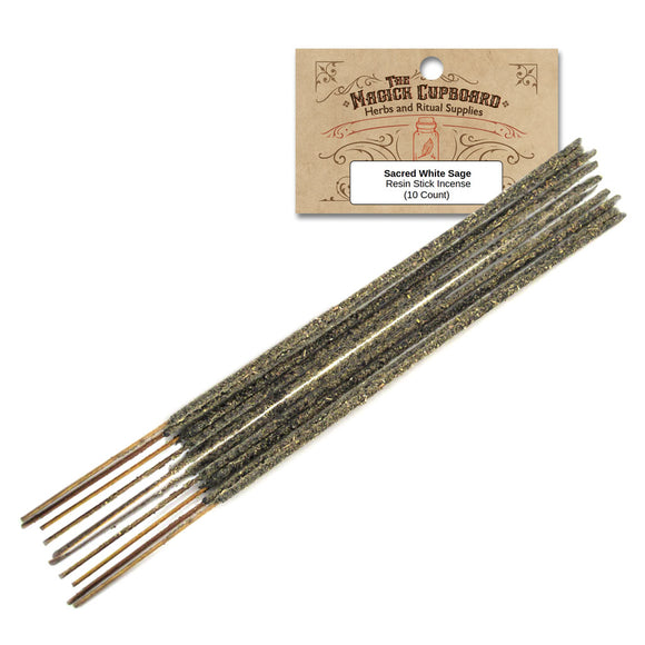 Resin Incense Sticks - Sacred White Sage