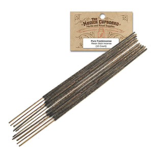 Resin Incense Sticks - Pure Frankincense - Grove and Grotto
