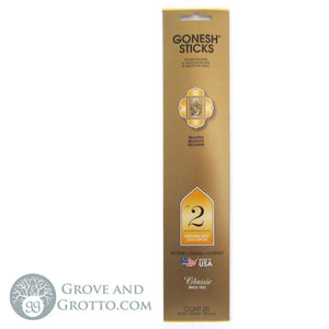 Gonesh Classic Incense Sticks (Package of 20) - #2 Oils and Spices