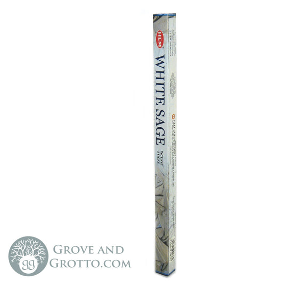 HEM Incense Sticks - White Sage - Grove and Grotto