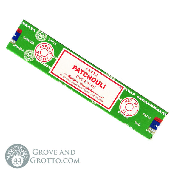 Patchouli Incense Sticks (15 g) by Satya