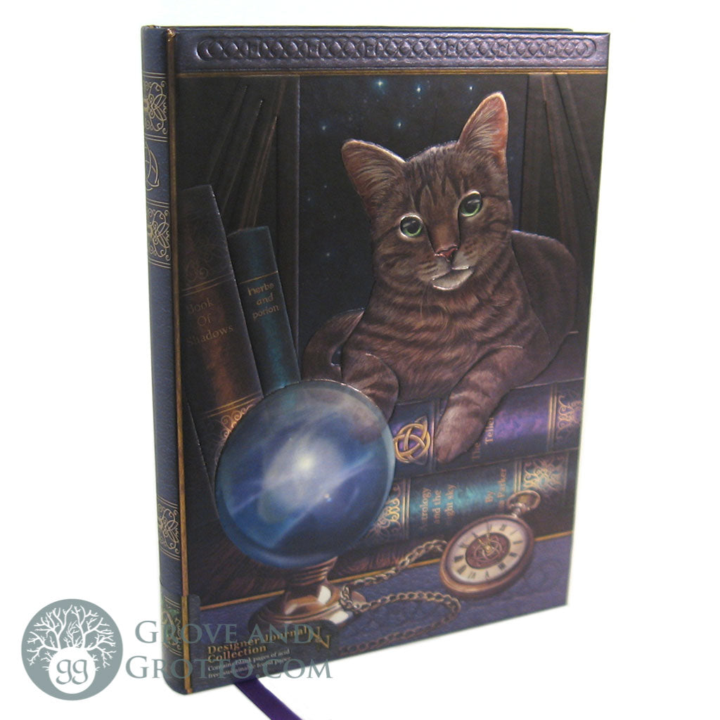 """Fortune Teller"" Cat Journal - Grove and Grotto"