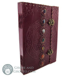 Seven Chakras Leather Journal