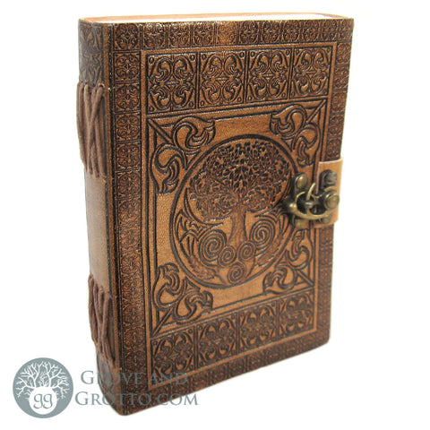 "Tree of Life ""Dream Keeper"" Leather Journal with Latch"