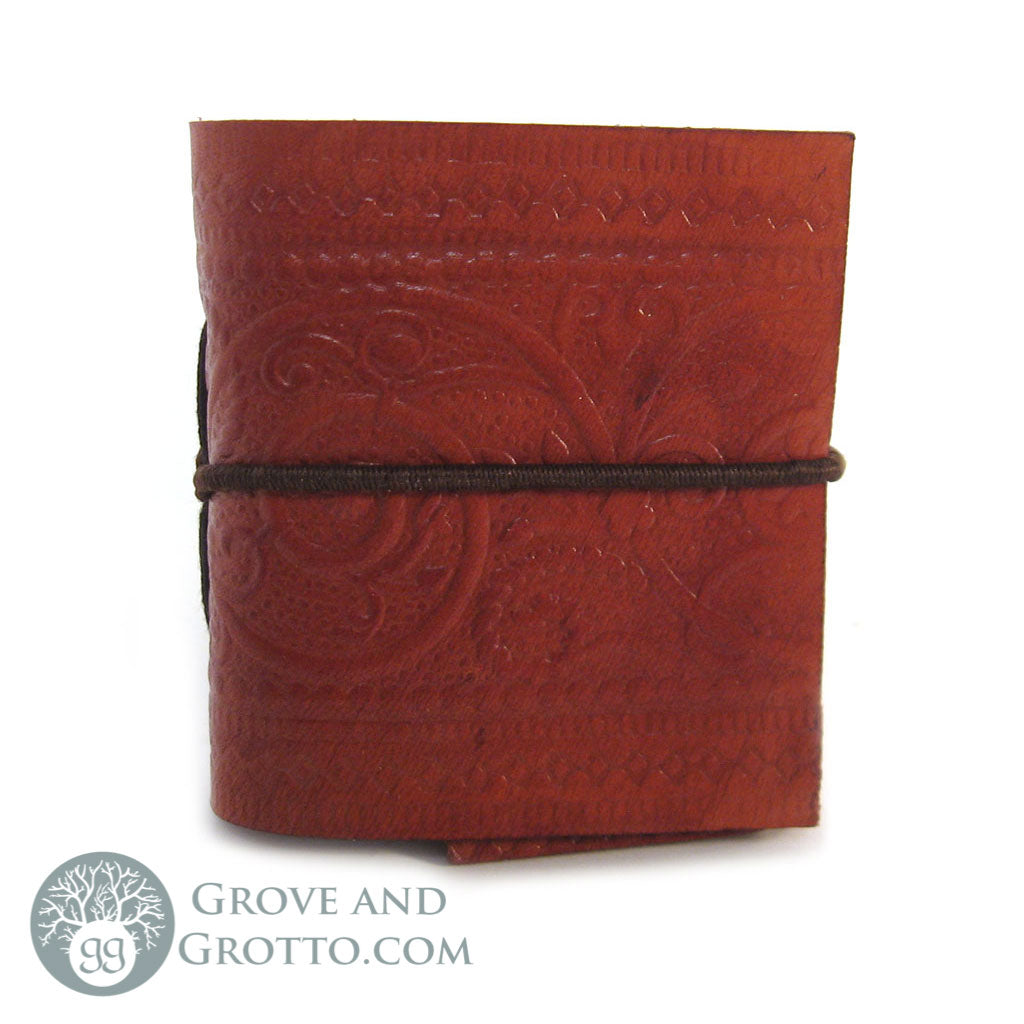 Pocket Leather Journal 3""