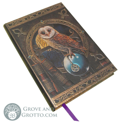 """Spellkeeper"" Owl Journal - Grove and Grotto"