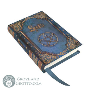 """Spells"" Mini Journal (Blue) - Grove and Grotto"
