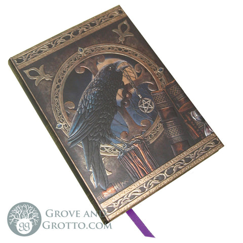 """Talisman"" Raven Journal - Grove and Grotto"