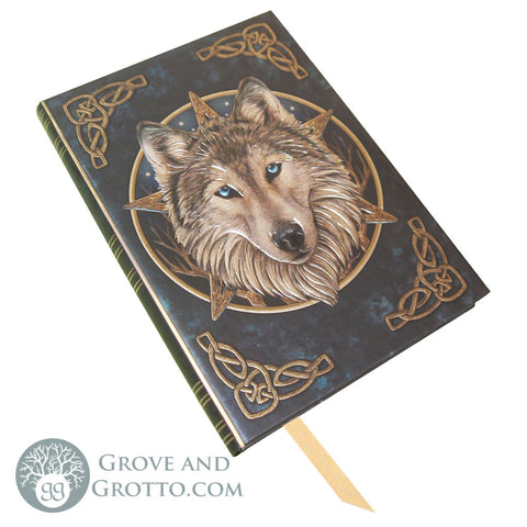 """Wild One"" Wolf Journal - Grove and Grotto"