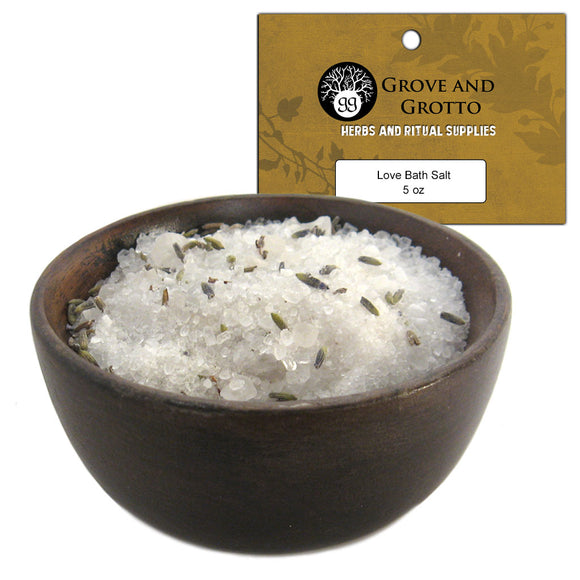 Love Bath Salt (5 oz) - Grove and Grotto