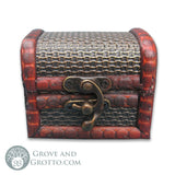 Mini Treasure Chest with Brass Latch - Grove and Grotto