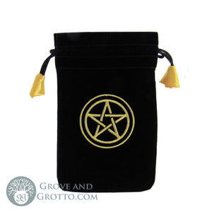 Pentacle Mini Pouch - Grove and Grotto