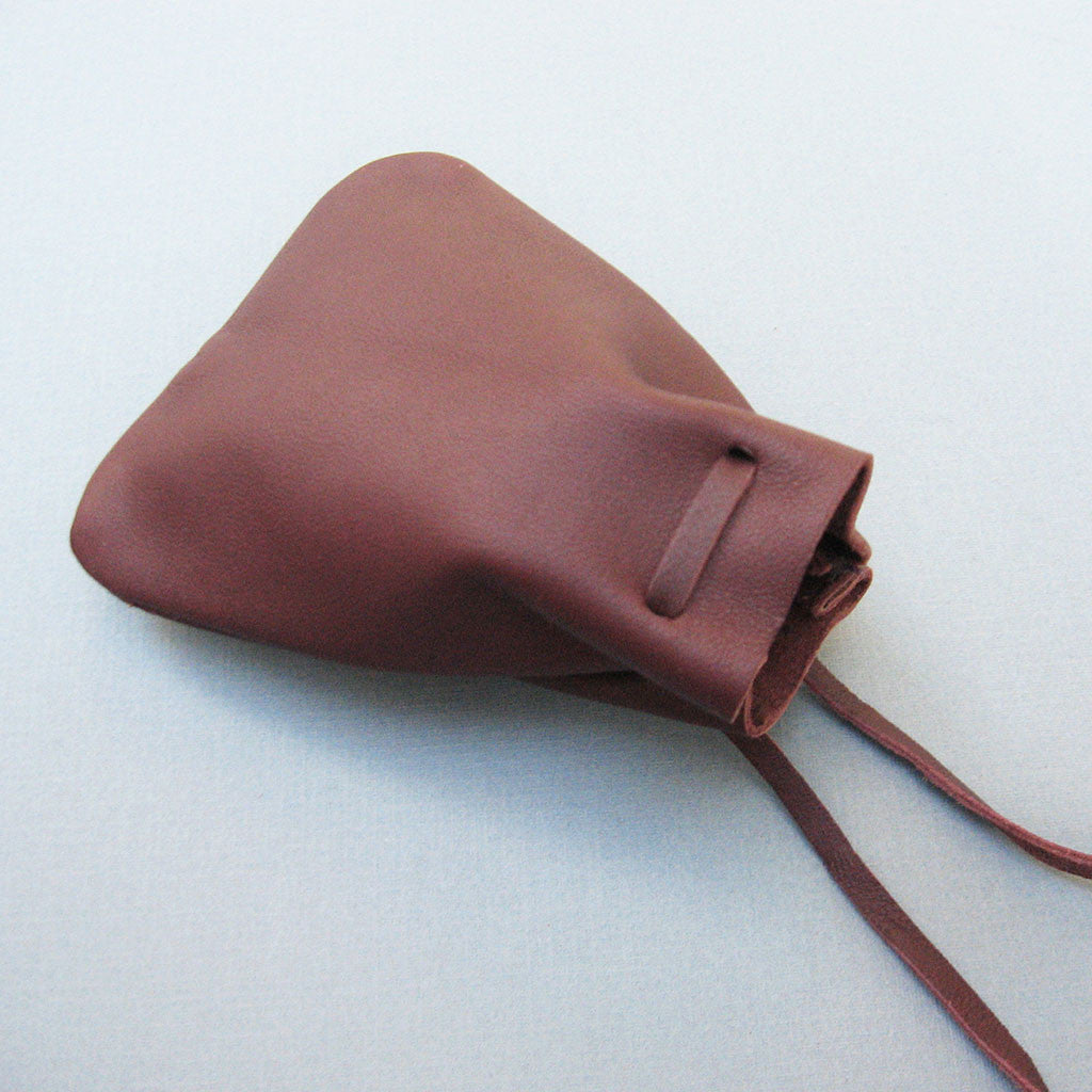 Brown Leather Mojo Bag