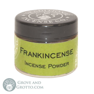 Natural Powder Incense in Jar - Frankincense - Grove and Grotto