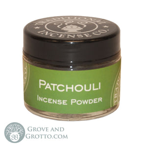 Natural Powder Incense in Jar - Patchouli - Grove and Grotto