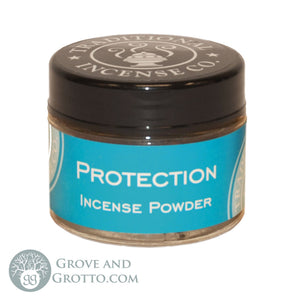 Natural Powder Incense in Jar - Protection - Grove and Grotto