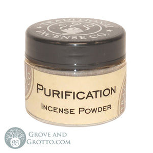 Natural Powder Incense in Jar - Purification - Grove and Grotto