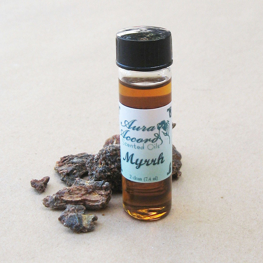 Aura Accord Myrrh Oil - Grove and Grotto
