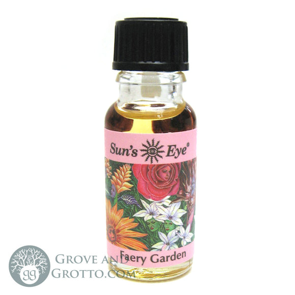 Sun's Eye Faery Garden Oil - Grove and Grotto