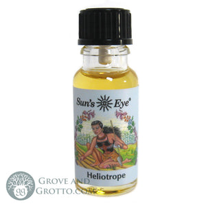 Sun's Eye Heliotrope Oil - Grove and Grotto