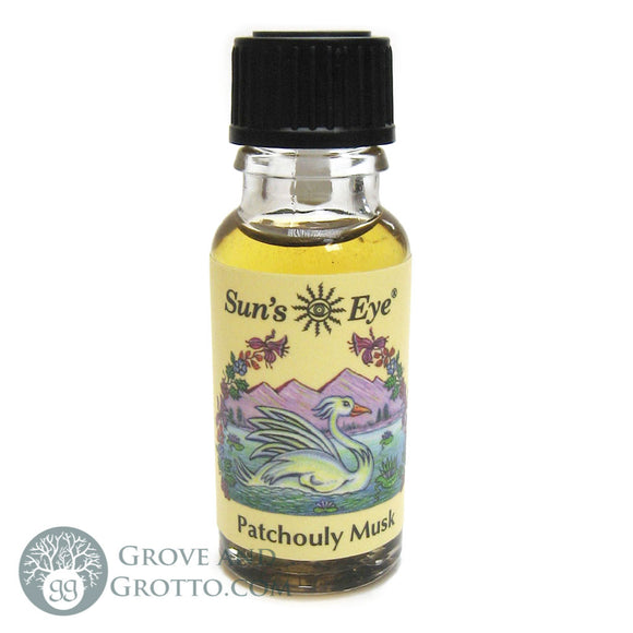 Sun's Eye Patchouly Musk Oil - Grove and Grotto