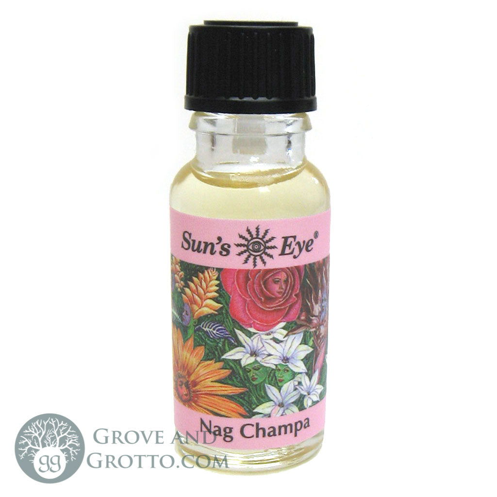 Sun's Eye Nag Champa Oil - Grove and Grotto